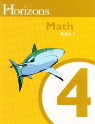 Horizons Math 4 - Book One