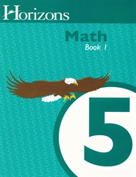 Horizons Math 5 - Book One