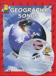 Geography Songs with CD - Exodus Books
