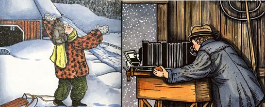 wilson activity and man bentley video handbookofnaturestudy link snowflake book