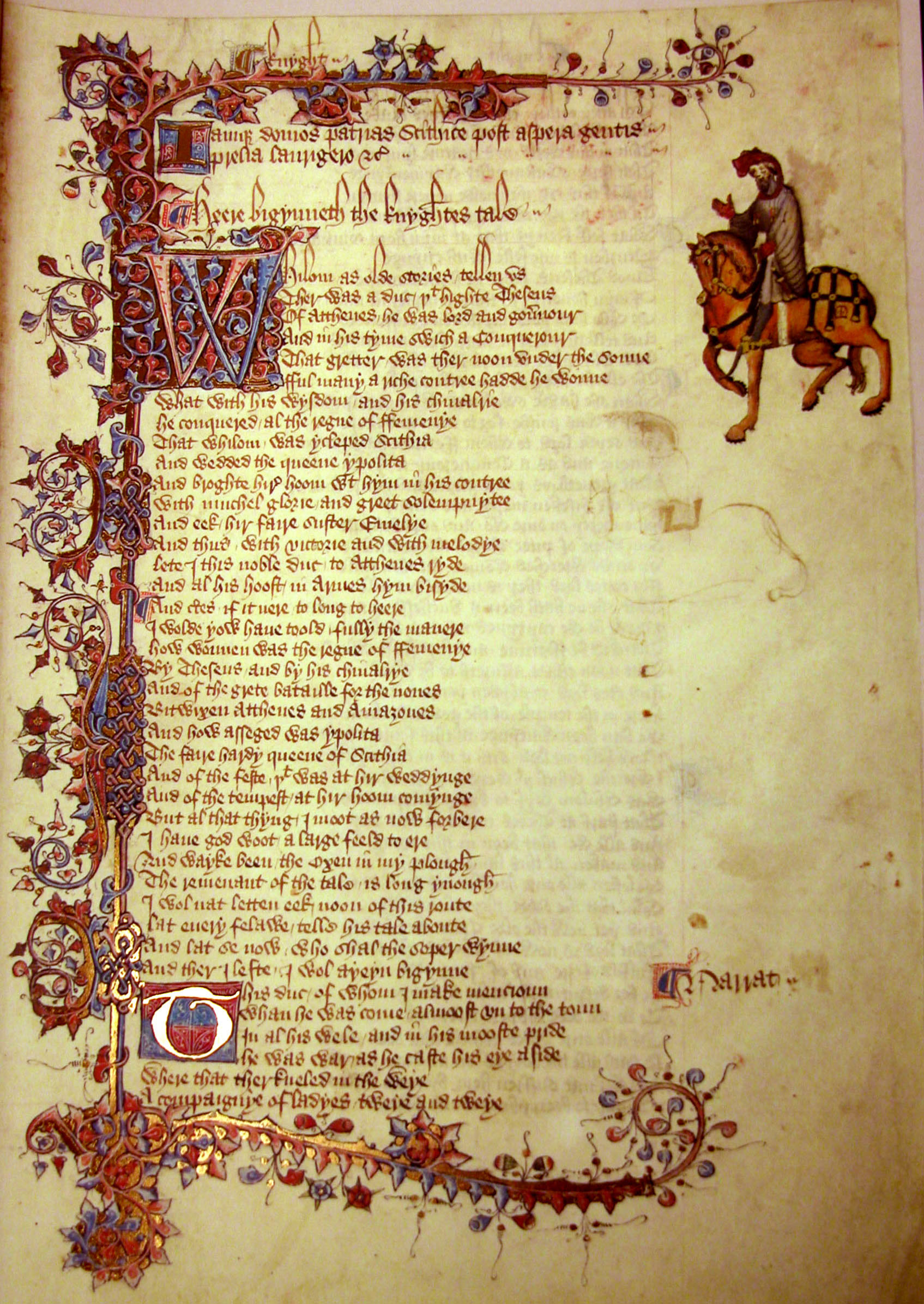 an attempt at a modern version of the canterbury tales The author of the canterbury tales, is called the father of english literature for his crucial  geoffrey chaucer was born  reading its modern english version.