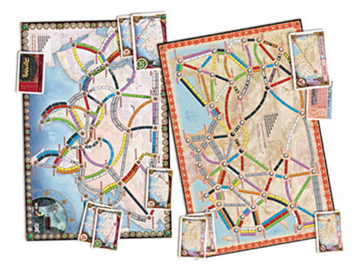 Ticket To Ride Asia Map.Ticket To Ride Map Collection Volume 1 Team Asia And Legendary