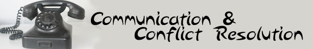 Communication & Conflict Resolution