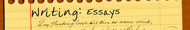 Writing: Essays