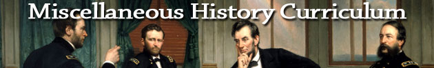 Miscellaneous History Curriculum