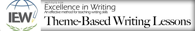 IEW Theme-Based Writing Lessons