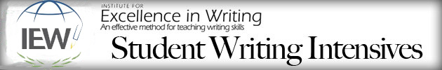 IEW Student Writing Intensives