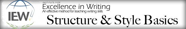 IEW Teaching Writing: Structure & Style