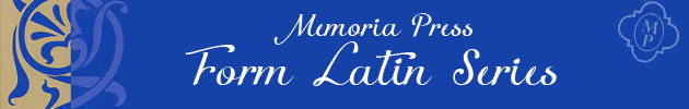 Memoria Press Form Latin Series