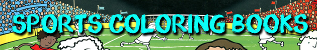 Sports Coloring Books