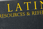 Latin Resources & Reference