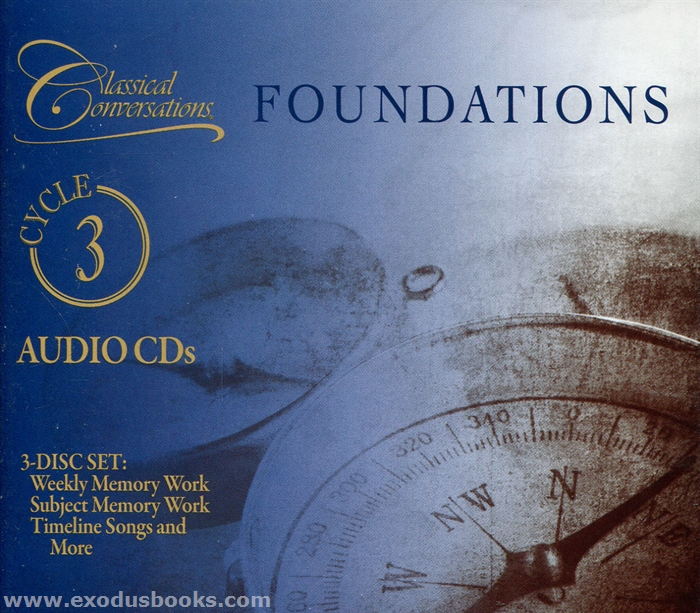 Classical Conversations Foundations Cycle 3 Audio Cds Exodus Books
