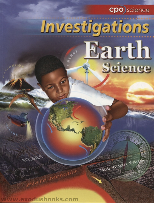 cpo science earth science investigations exodus books. Black Bedroom Furniture Sets. Home Design Ideas