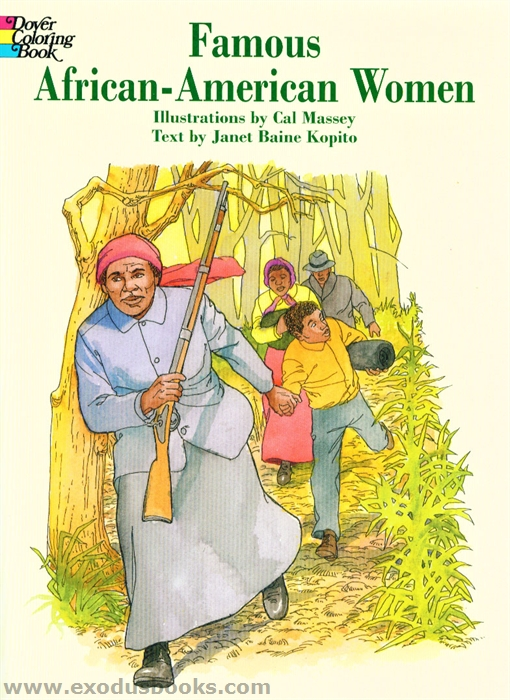Famous AfricanAmerican Women Coloring Book Exodus Books