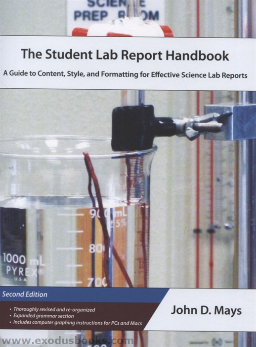 Student Lab Report Handbook - Exodus Books