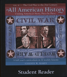 All American History Volume II - Student Reader