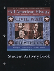 All American History Volume II - Student Activity Book
