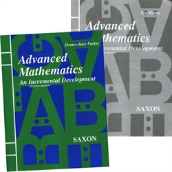 Saxon Advanced Mathematics - Home Study Packet