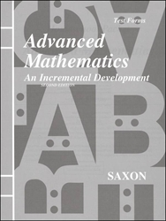 Saxon Advanced Mathematics - Test Forms