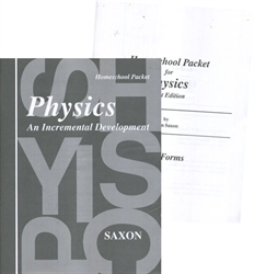 Saxon Physics - Home Study Packet