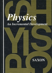Saxon Physics - Textbook