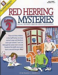 Red Herring Mysteries Level 2
