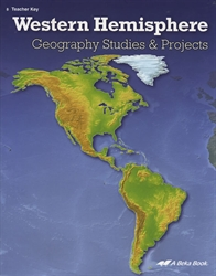 Geography Studies & Projects of the Western Hemisphere - Key