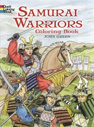 Samurai Warriors - Coloring Book