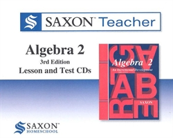 Saxon Algebra 2 - Teacher CD-ROM