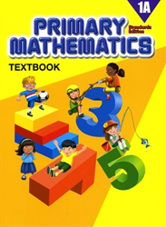 Primary Mathematics 1A - Textbook
