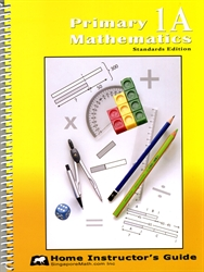 Primary Mathematics 1A - Home Instructor's Guide