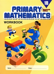Primary Mathematics 1B - Workbook