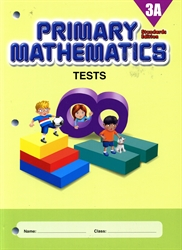 Primary Mathematics 3A - Tests