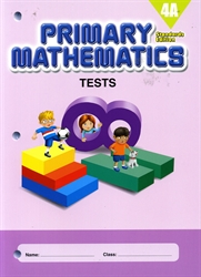 Primary Mathematics 4A - Tests
