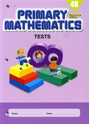 Primary Mathematics 4B - Tests