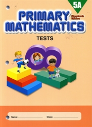 Primary Mathematics 5A - Tests