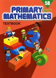 Primary Mathematics 5B - Textbook