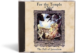 For the Temple - MP3 CD