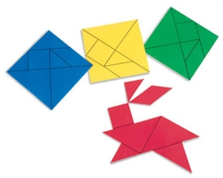Tangrams - 28-piece set