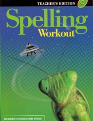 Spelling Workout C - Teacher Edition
