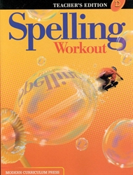 Spelling Workout D - Teacher Edition