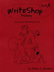 WriteShop Primary Book A - Activity Set Worksheet Pack