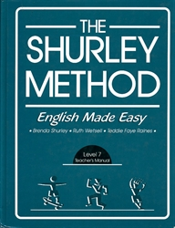 Shurley English Level 7 - Teacher's Manual