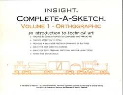 Complete-A-Sketch Volume 1
