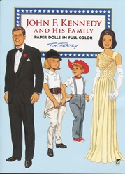 John F. Kennedy and His Family - Paper Dolls