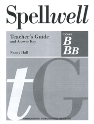 Spellwell B & Bb - Teacher's Guide and Answer Key
