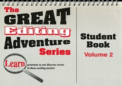 Great Editing Adventure Series Volume 2 - Student Book