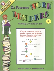 Dr. Funster's Word Benders B1