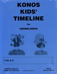 Konos Kids' Timeline for Orderliness