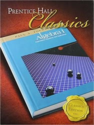 Foerster Algebra 1, Classics Edition with Solutions Manual